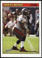 2005 Bazooka Derrick Brooks NFL Football Card