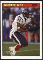 2005 Bazooka Domanick DavisNFL Football Card