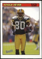 2005 Bazooka Donald Driver NFL Football Card
