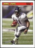2005 Bazooka Jamal Lewis NFL Football Card