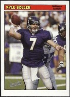2005 Bazooka Kyle Boller NFL Football Card