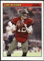 2005 Bazooka Luke McCown NFL Football Card