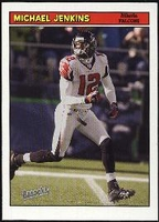 2005 Bazooka Michael Jenkins NFL Football Card