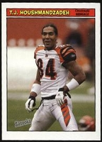 2005 Bazooka T.J. Houshmandzadeh NFL Football card
