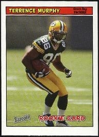 2005 Bazooka Terrence Murphy Rookie NFL Football Card