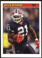 2005 Bazooka Willis McGahee NFL Football Card