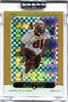 2005 Topps Chrome Gold Xfractors Uncirculated Alex Smith NFL Football Card