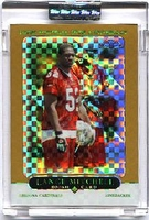 2005 Topps Chrome Gold Xfractors Uncirculated Lance Mitchell NFL Football Card