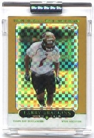 2005 Topps Chrome Gold Xfractors Uncirculated Larry Brackins NFL Football Card