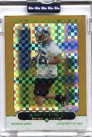 2005 Topps Chrome Gold Xfractors Uncirculated Shaun Cody NFL Football Card