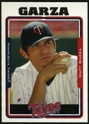 2005 Topps Factory Set First Year Draft Bonus Matt Garza Baseball Card