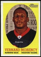 2005 Topps Heritage Vernand Morency Rookie NFL Football Card