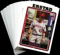 2005 Topps Los Angeles Angels of Anaheim MLB Baseball Cards Team Set