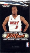 2006-07 Topps Full Court NBA Basketball Cards Pack