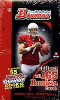 2006 Bowman NFL Football Cards Hobby Box