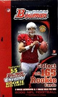 2006 Bowman NFL Football Cards Jumbo Packs Box