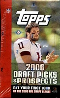 2006 Topps Draft Picks & Prospects NFL Football Cards Hobby Box