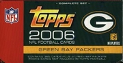2006 Topps Factory NFL Football Cards Green Bay Packers Team Edition Set