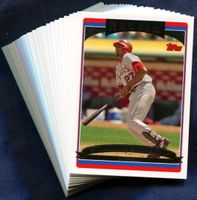 2006 Topps Los Angeles Angels of Anaheim MLB Baseball Cards Team Set