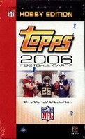 2006 Topps NFL Football Cards Hobby Box