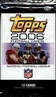 2006 Topps NFL Football Cards Hobby Pack