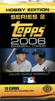 2006 Topps Series 2 Baseball Cards Hobby Pack