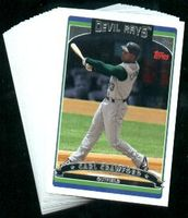2006 Topps Tampa Bay Devil Rays MLB Baseball Cards Team Set