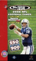 2006 Topps Total NFL Football Cards Hobby Box