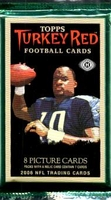 2006 Topps Turkey Red NFL Football Cards Hobby Pack