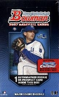 2007 Bowman Baseball Cards Hobby Box