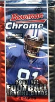 2007 Bowman Chrome NFL Football Cards Hobby Pack