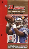 2007 Bowman HTA Hobby Jumbo Packs NFL Football Cards Box