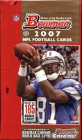 2007 Bowman NFL Football Cards Hobby Box