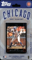 2007 Chicago Cubs Topps MLB Factory Baseball Cards Team Set