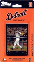 2007 Detroit Tigers Topps MLB Factory Baseball Cards Team Set