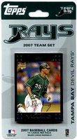 2007 Tampa Bay Devil Rays Topps MLB Factory Baseball Card Team Set