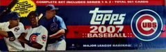 2007 Topps Baseball Cards Chicago Cubs Team Edition Factory Set