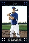 2007 Topps Factory Set Dodgers Team Bonus Brady Clark Baseball Card