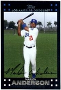 2007 Topps Factory Set Dodgers Team Bonus Marlon Anderson Baseball Card