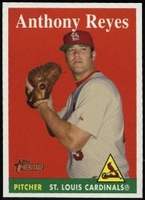 2007 Topps Heritage Anthony Reyes Baseball Card