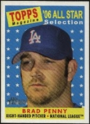 2007 Topps Heritage Brad Penny All-Star Baseball Card