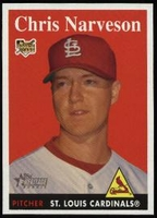 2007 Topps Heritage Chris Narveson Baseball Card