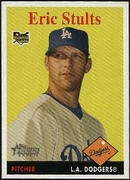 2007 Topps Heritage Eric Stults Rookie Baseball Card