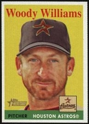 2007 Topps Heritage Woody Williams Baseball Card