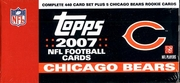 2007 Topps NFL Football Cards Chicago Bears Team Edition Factory Set