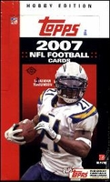 2007 Topps NFL Football Cards Hobby Box