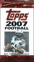 2007 Topps NFL Football Cards Hobby Pack