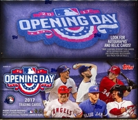 2017 Topps Opening Day Baseball Cards Box