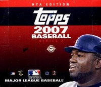 2007 Topps Series 2 Baseball Cards HTA Jumbo Packs Box