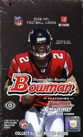 2008 Bowman NFL Football Cards Hobby Box